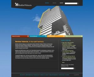 Berklee Valencia Homepage